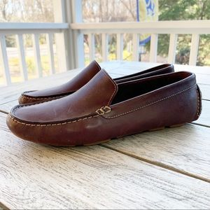 COLE HAAN Country Sz 9.5 Leather Driving Moccasin